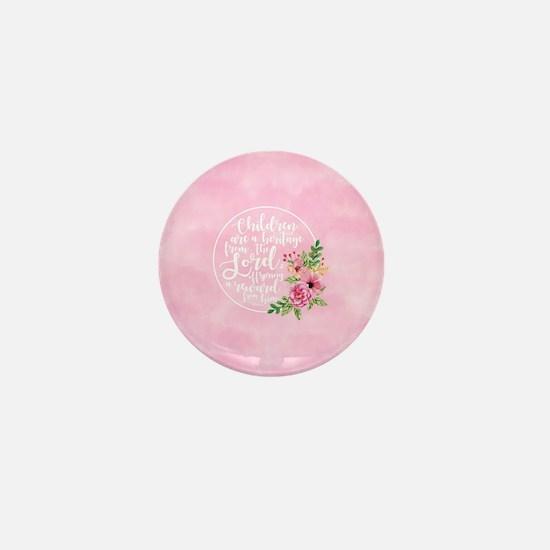 Children Heritage Mini Button