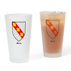 Merry Drinking Glass