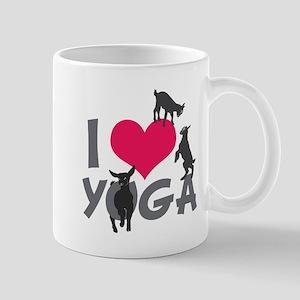 I Heart Goat Yoga | GetYerGoat™ Mugs