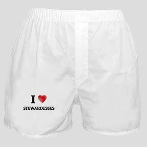 I love Stewardesses Boxer Shorts