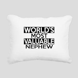 World's Most Valuable Ne Rectangular Canvas Pillow
