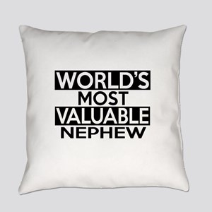 World's Most Valuable Nephew Everyday Pillow
