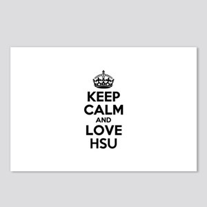 Keep Calm and Love HSU Postcards (Package of 8)
