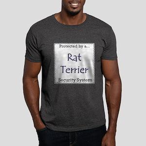 Rat Terrier Security Dark T-Shirt