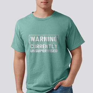 Warning currently unsupervised T-Shirt