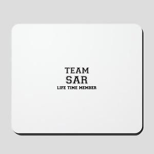Team SAR, life time member Mousepad