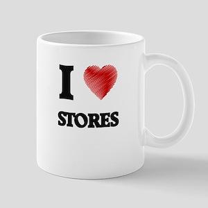 I love Stores Mugs