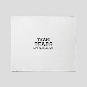 Team SEARS, life time member Throw Blanket