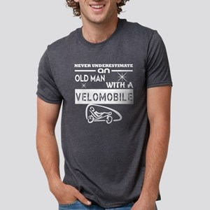 An Old Man With A Velomobile T Shirt T-Shirt