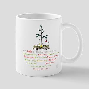 12 Days of Christmas (whitebg) Mugs