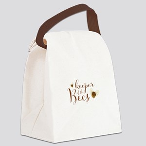 keeper of the Bees Canvas Lunch Bag