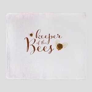 keeper of the Bees Throw Blanket