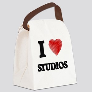 I love Studios Canvas Lunch Bag