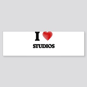 I love Studios Bumper Sticker