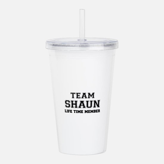Team SHAUN, life time Acrylic Double-wall Tumbler