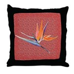 Red BoP Throw Pillow