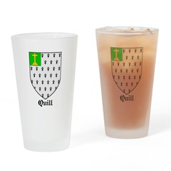 Quill Drinking Glass