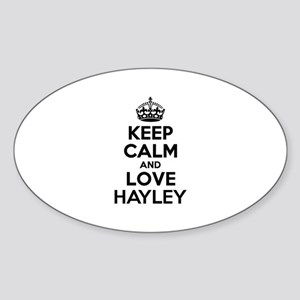 Keep Calm and Love HAYLEY Sticker