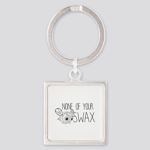 None of Your Beeswax Keychains