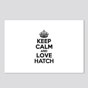 Keep Calm and Love HATCH Postcards (Package of 8)