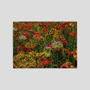 Poppy20160301 5'x7'Area Rug