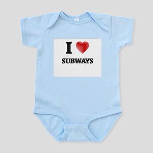 I love Subways Body Suit