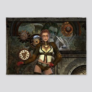 Steampunk, steampunk women with clocks and gears 5