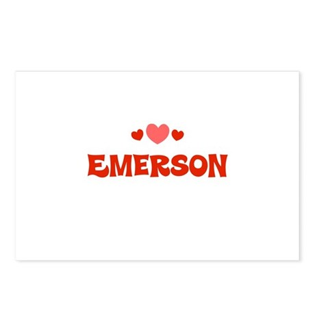Emerson Postcards (Package of 8)