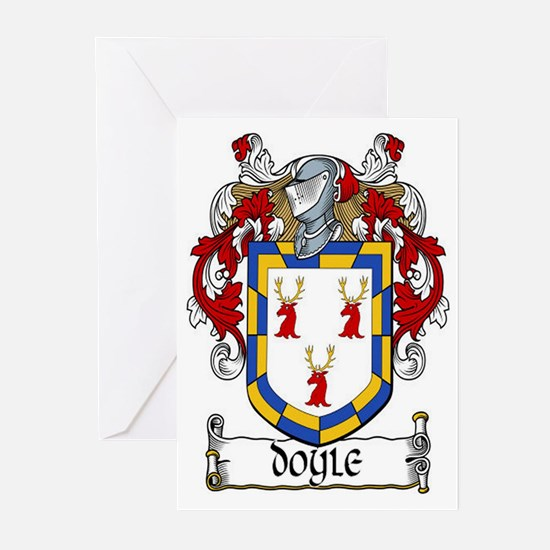 Doyle Coat of Arms Greeting Cards (Pk of 20)