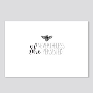 Nevertheless She Persisted Bee Postcards (Package