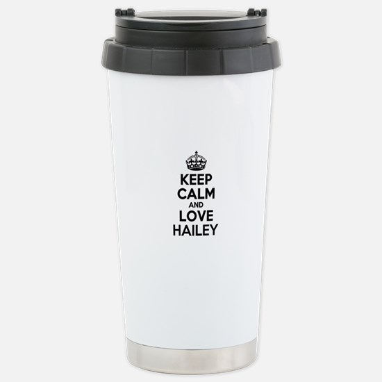 Keep Calm and Love HAIL Stainless Steel Travel Mug