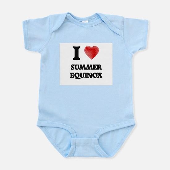 I love Summer Equinox Body Suit