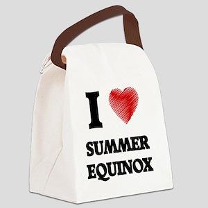 I love Summer Equinox Canvas Lunch Bag