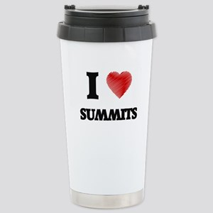 I love Summits Stainless Steel Travel Mug