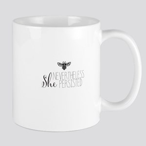 Nevertheless She Persisted Bee Mugs