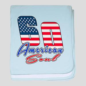 60 American Soul Birthday Designs baby blanket