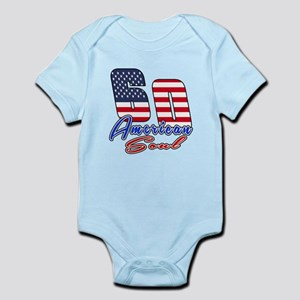 60 American Soul Birthday Designs Infant Bodysuit