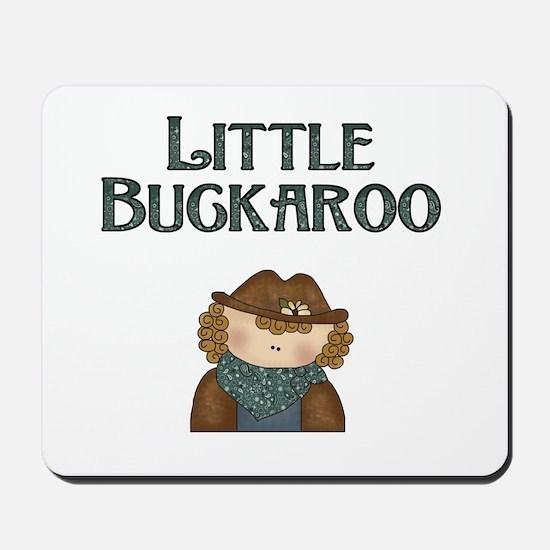 Cowgirl Little Buckaroo Mousepad