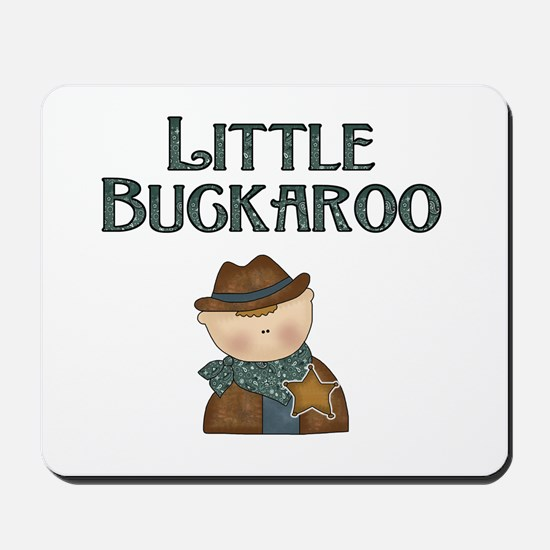 Cowboy Little Buckaroo Mousepad