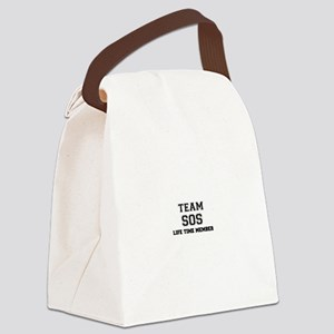 Team SOS, life time member Canvas Lunch Bag