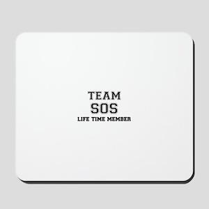 Team SOS, life time member Mousepad