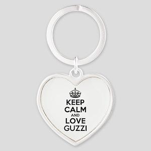 Keep Calm and Love GUZZI Keychains