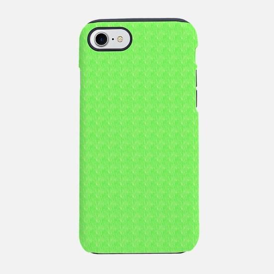 Plain lime Green iPhone 8/7 Tough Case