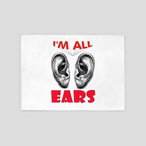 EARS 5'x7'Area Rug