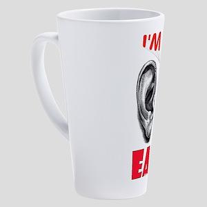 EARS 17 oz Latte Mug
