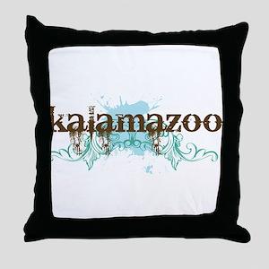 Kalamazoo Michigan Throw Pillow