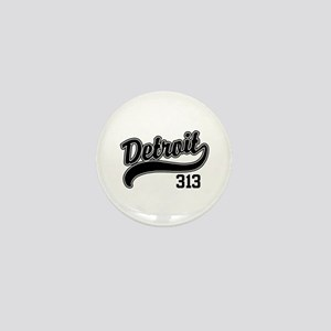 Detroit 313 Mini Button