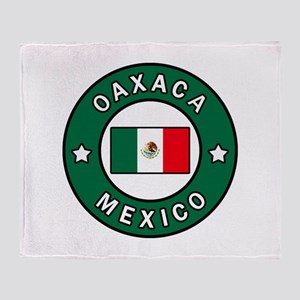 Oaxaca Mexico Throw Blanket