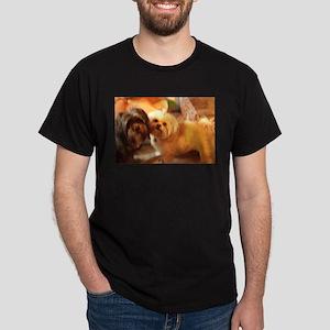 Kona and Koko dogs at play T-Shirt
