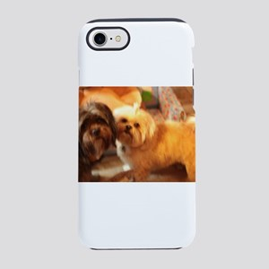 Kona and Koko dogs at play iPhone 8/7 Tough Case